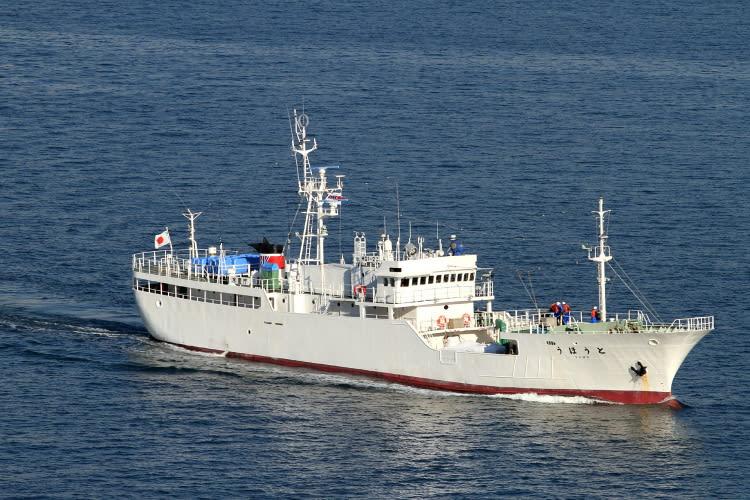 水産庁 漁業取締船 「 とうほう 」(気仙沼) この船ですが、まだ詳細... 水産庁 漁業取締船