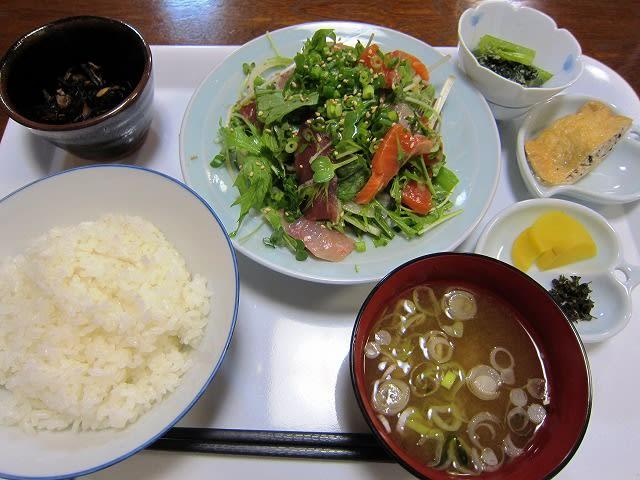 刺身サラダ定食