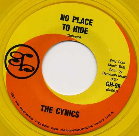 The Cynics No Place To Hide Hard Times