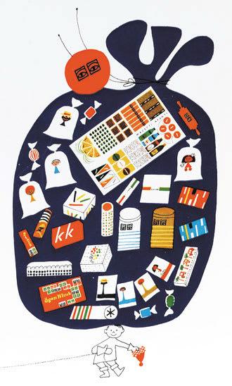 スウェーデン巨匠イラストレーターのカレンダー , 2006年12月29日
