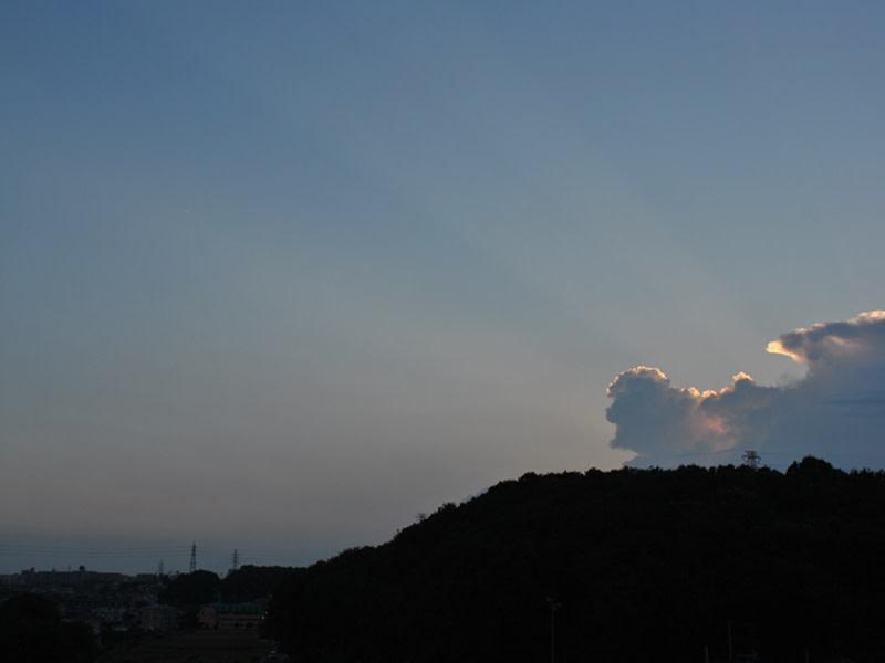 08月25日 光芒のアップ