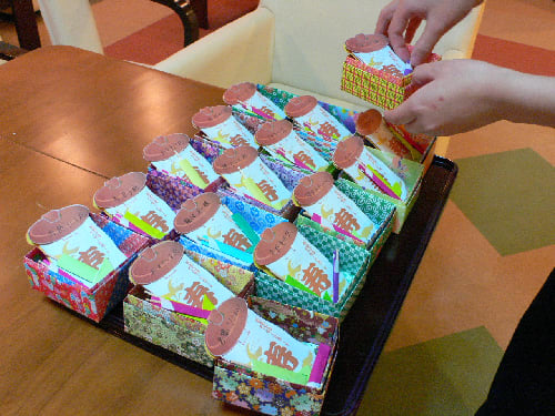 ハート 折り紙:折り紙でプレゼント-blog.goo.ne.jp