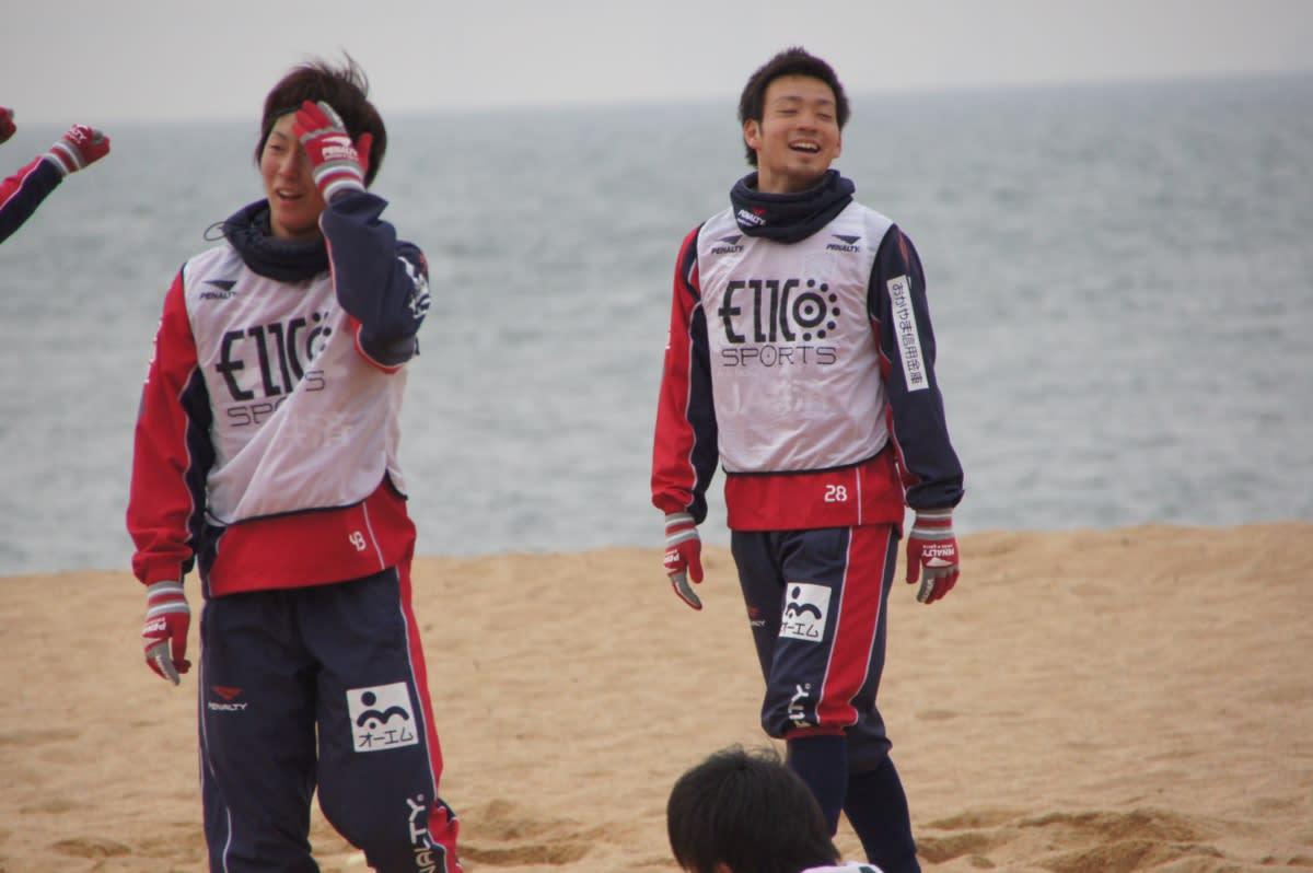 2012 01/28 ファジアーノ岡山 渋川海岸トレーニング - 関東ファジサポ <b>...</b>