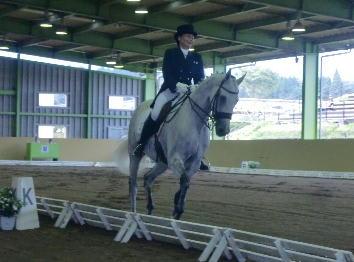 成年女子馬場 6位 江里口裕子 ホウフレーバー コメント   競馬学校・騎手・厩務員受験サポート