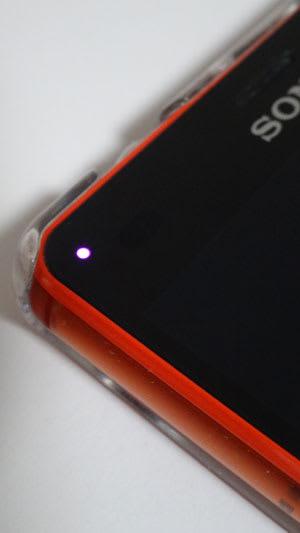 通知LEDは小さすぎる