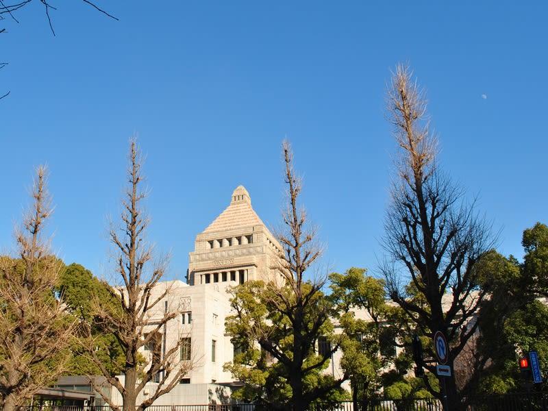 国会議事堂の裏側
