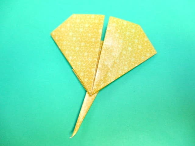 すべての折り紙 折り紙桜の作り方 : 秋の折り紙いちょうの折り方の ...