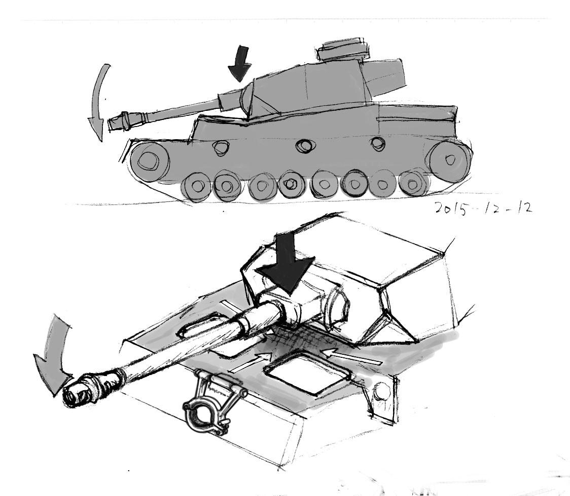 なぜⅣ号戦車の砲塔前面装甲板は5...