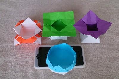 ハート 折り紙 : 折り紙 キャンディボックス : blog.goo.ne.jp