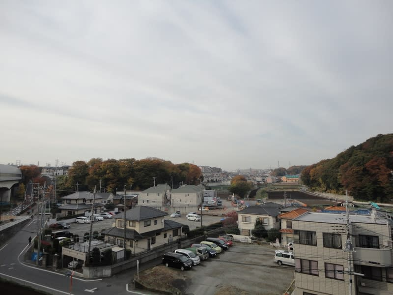 11月25日 放射状の雲