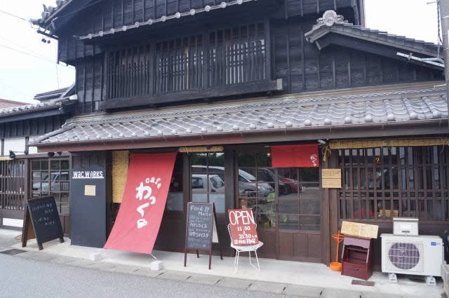 伊勢市河崎「cafeわっく」のランチ食べて来ました〜(^^)