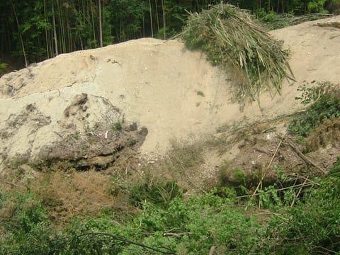 昆布滝の跡