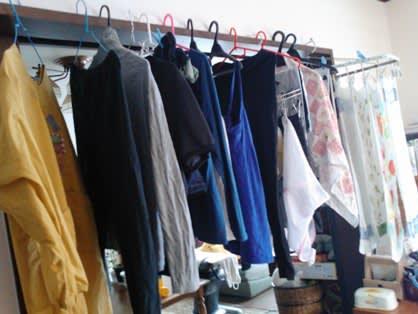 洗濯物干し場 - 空模様