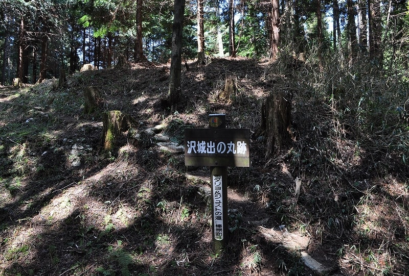 沢城出の丸跡