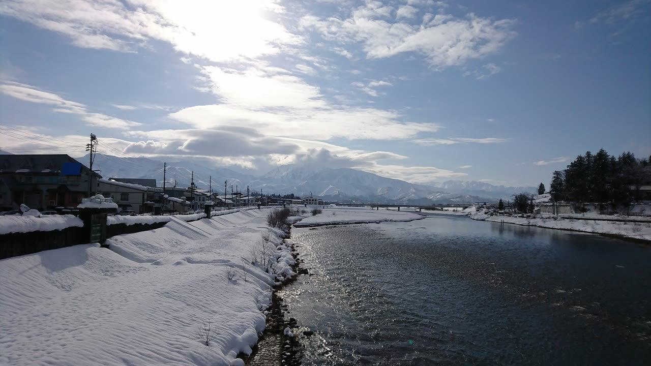ザ・うおぬま冬景色