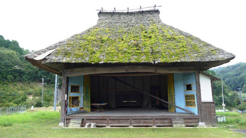 大川神明宮の舞台