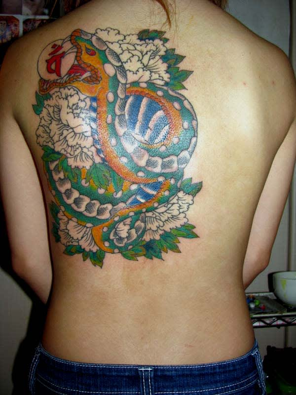 和彫り - タトゥー,刺青,和絵柄は「MANDARA ...