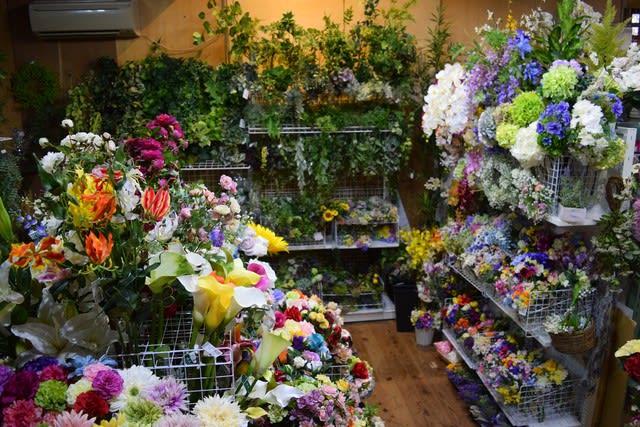 店舗 造花 ココーフラワー