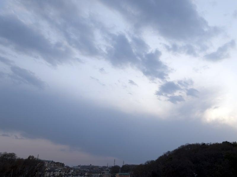 03月22日 根岸台の空