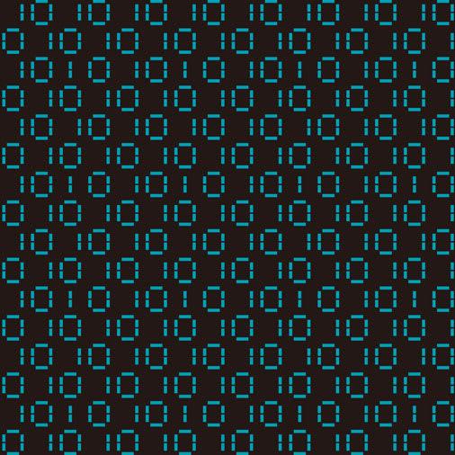 デジタルパターン柄