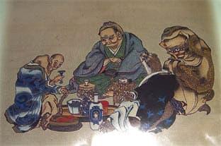 (高井鴻山の妖怪絵) 鴻山が妖怪の絵を好んで描いたのは晩年である。どう... 高井鴻山記念館と妖