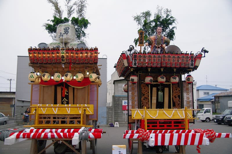 室蘭ーーー→森町祭り - おっさんの一人旅!!
