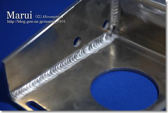精密板金 丸井工業 アルミのTIG溶接