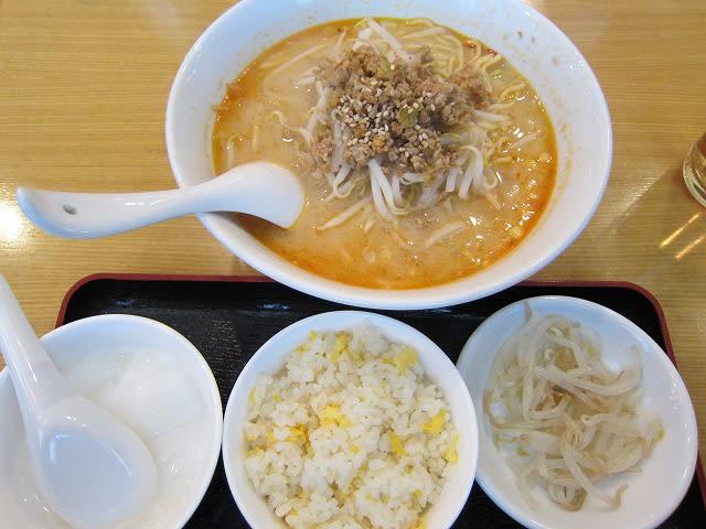 日替わりランチ(担々麺)