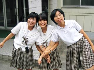 津山商業高等学校制服画像