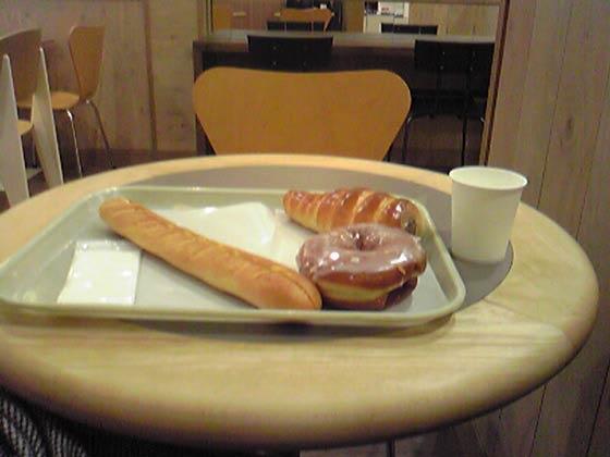 パン屋好きな私にはたまらないパン屋 パンの木箱 ドーナツがおすすめです