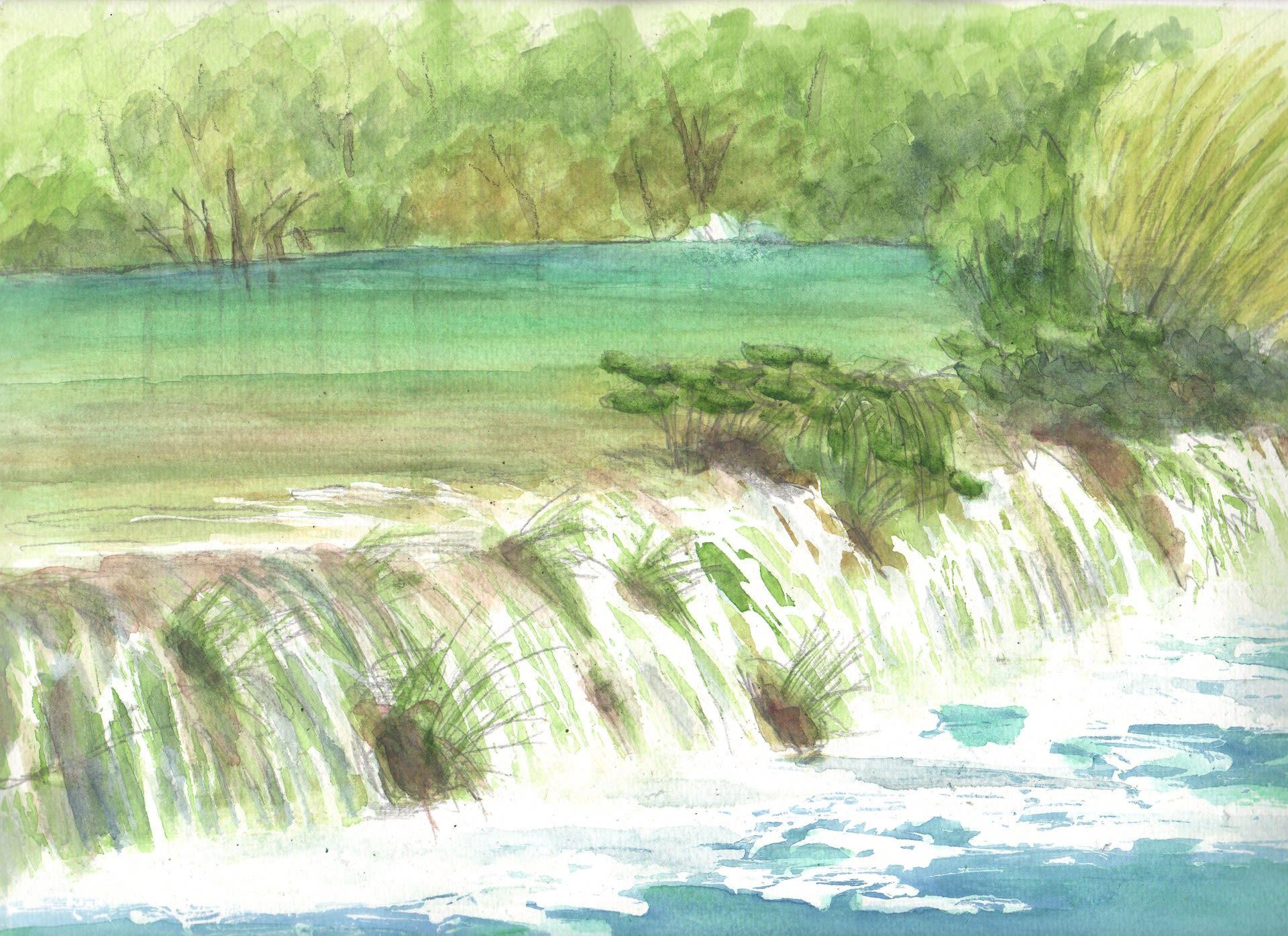 プリトヴィツェ湖群国立公園の画像 p1_34