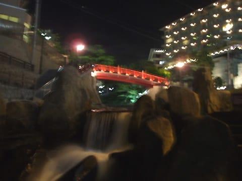 有馬温泉「ねね橋」の夜景
