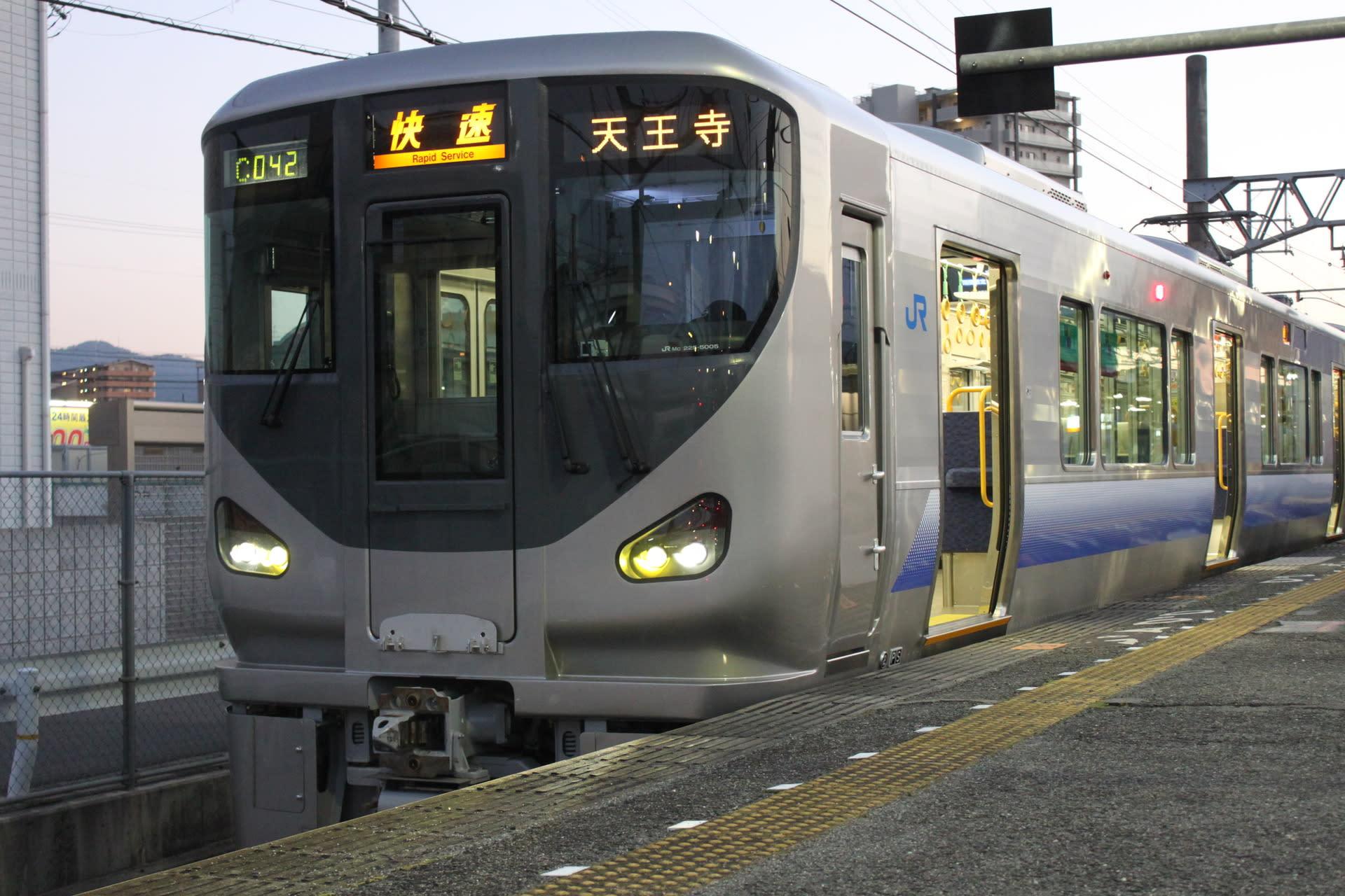 阪和線に新たな仲間、「225系」...