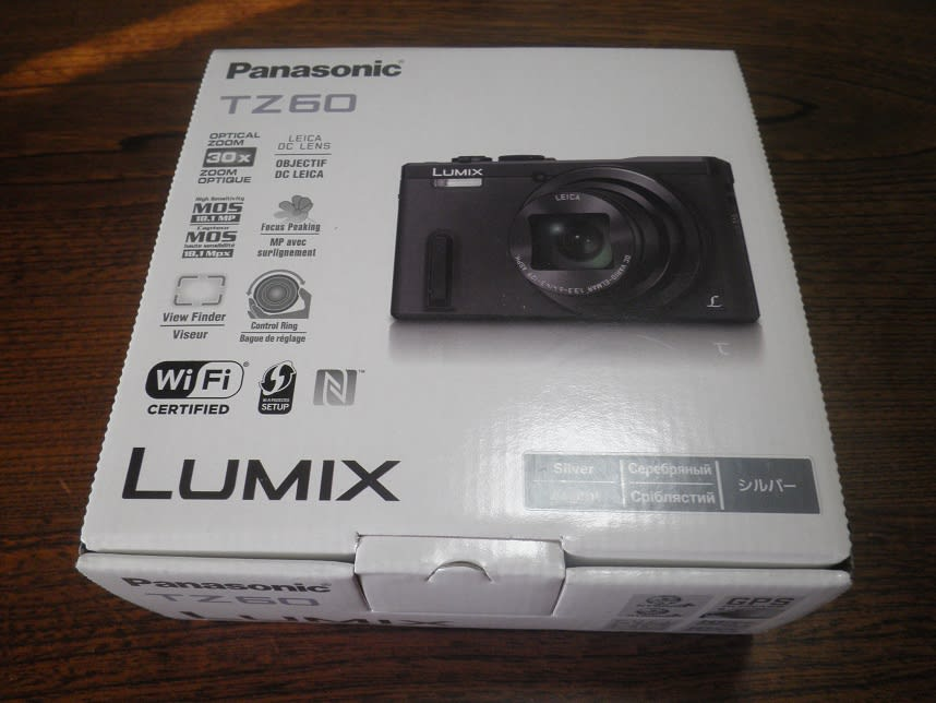 panasonic lumix tz60 user manual