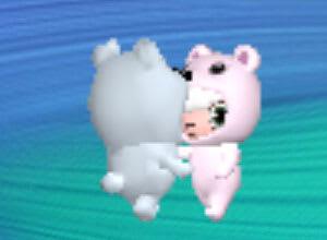 クマでもダンス