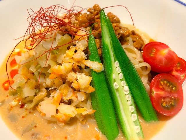 【新横浜ラーメン博物館】「支那そばや」で厳選食材を使用した、新作「冷やし担々麺」が期間限定で爽やかに登場なう‼️