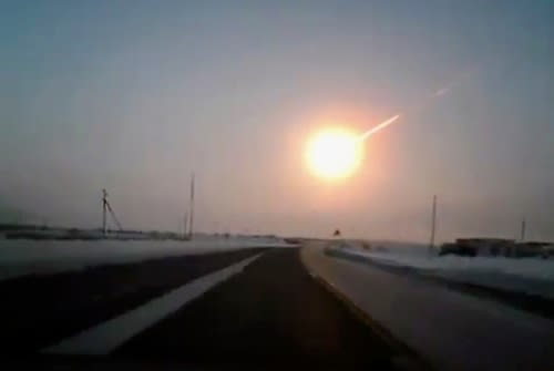 2013年チェリャビンスク州の隕石落下