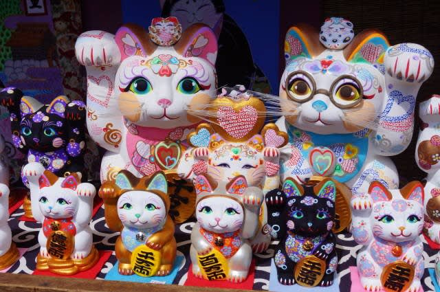 おかげ横丁「来る福招き猫祭り」に行ってきました〜(^^)  2017