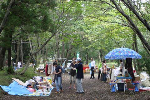 森の露店市