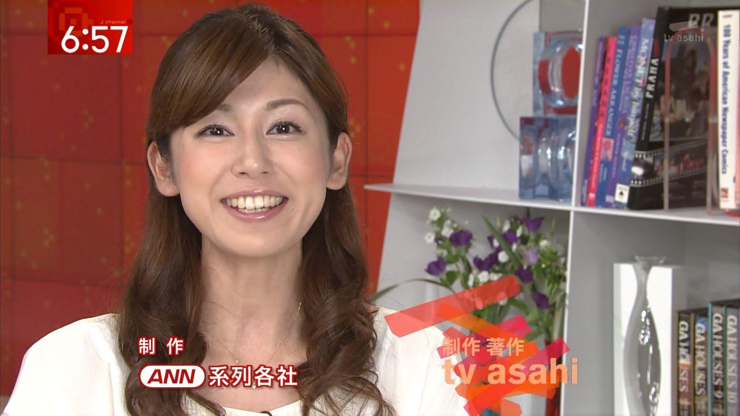 前歯がキレイな加藤真輝子