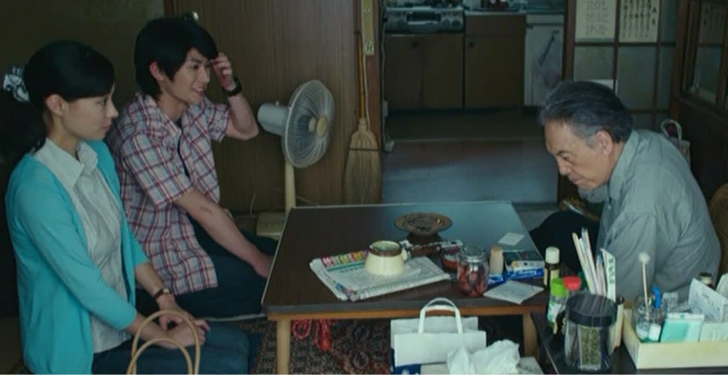 映画では現代と戦争中の場面が交互に出てきますが、現代のパートは、橋爪さん以外にも平幹二朗さん、田中泯さん、山本学さん、夏八木勲さんとベテラン俳優揃いです。