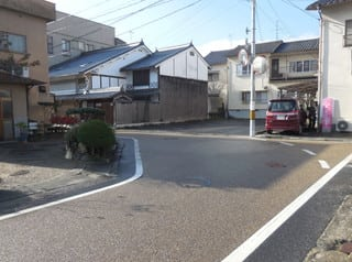 橋本町の曲り