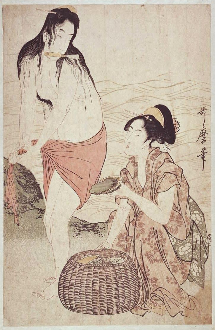 浮世絵 春画 江戸時代の浮世絵に当時の海女の姿を残すものがないか調べてみた。海女の浮世絵というと何といっても北斎の「蛸と海女」が有名であるが、あのようなあからさまな 春画 ...