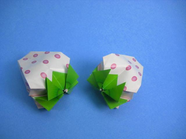 すべての折り紙 チューリップの折り紙 : ... 創作折り紙の折り方・・・動画