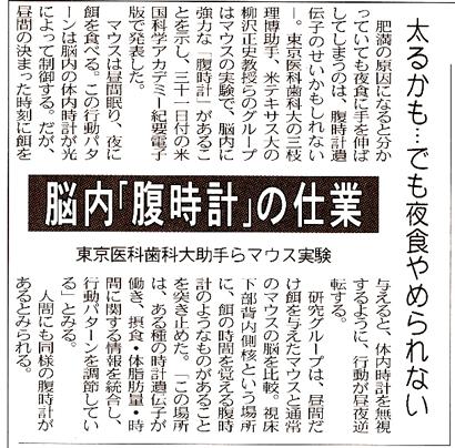 腹時計 - 世田谷区議会議員・田...