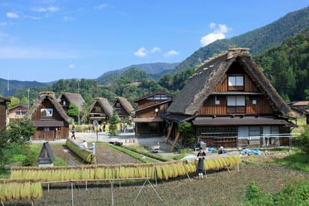 白川郷・五箇山の合掌造り集落の画像 p1_14