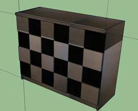 3Dで家具を再現します