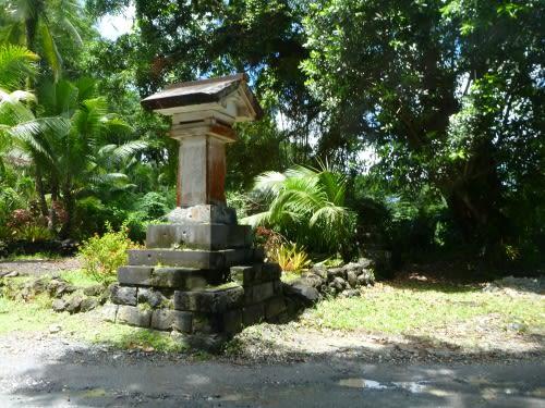 南洋神社(パラオのコロール島の日本統治時代の建物)