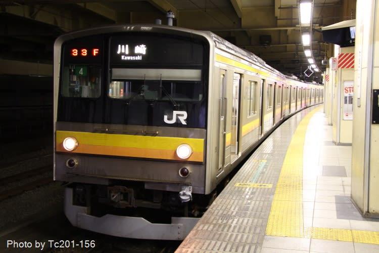 ■武蔵野線→京葉線(二俣支線) もうしばらくは安泰と思われる205系王... 4 武蔵野線、りん