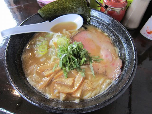 鶏濃麺(醤油)